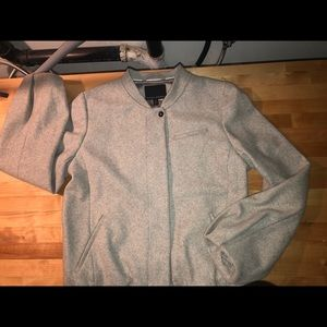 Banana republic italian Gray wool jacket